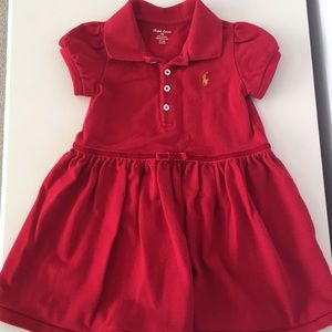 Ralph Lauren Corduroy Dress with Bloomers